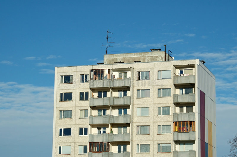 公寓 库存图片