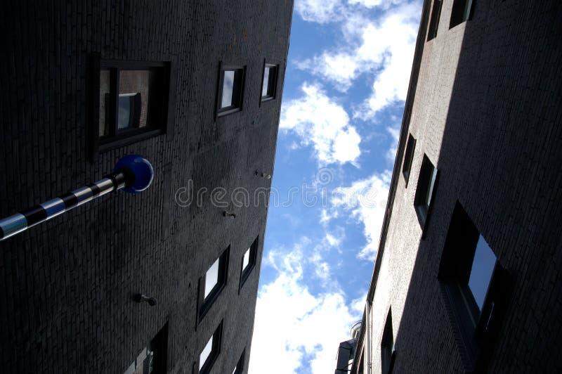 公寓buidings 免版税库存图片