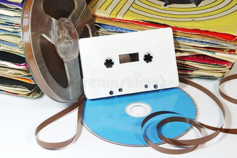 20o Media da música do século fotografia de stock