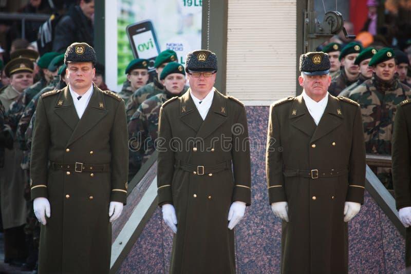 20th årsdagsjälvständighetåterställande royaltyfri fotografi