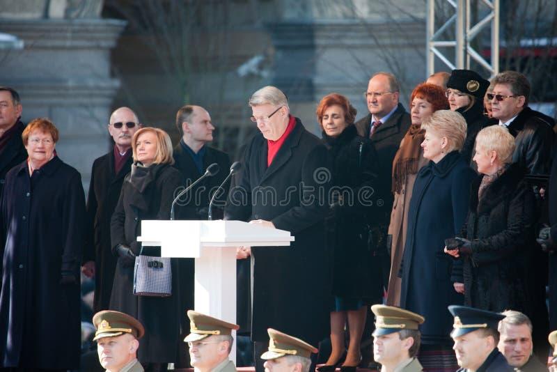 20th восстановление независимости годовщины стоковое фото rf