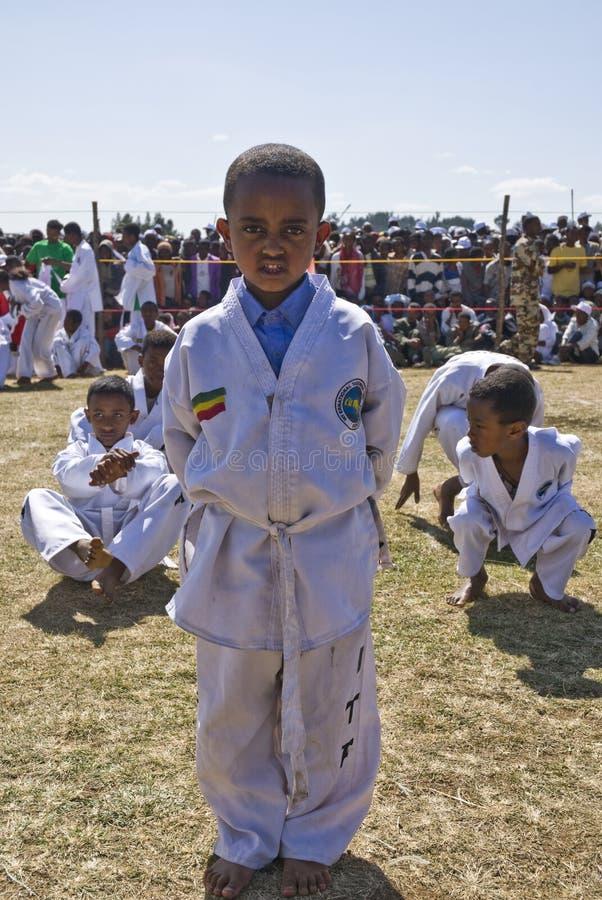 20th hjälpmedeldagskärm gör kwontaevärlden arkivbild