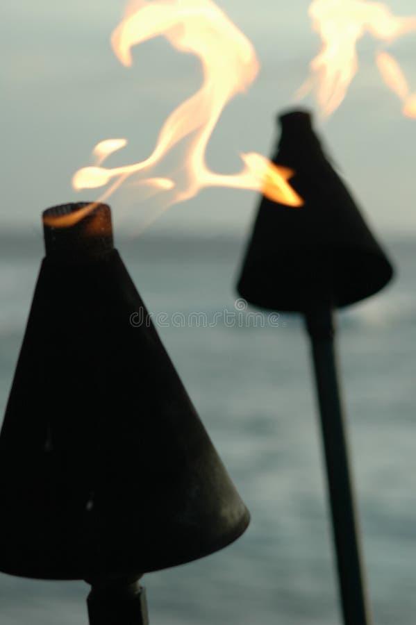 21发火焰 免版税库存照片