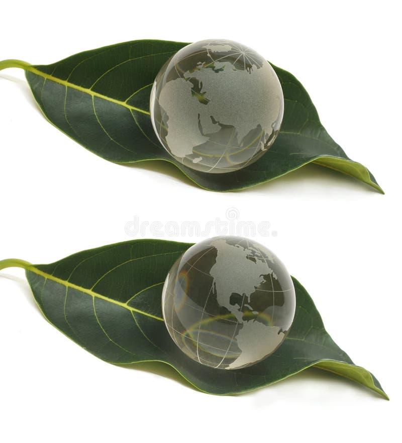 21水晶地球 向量例证