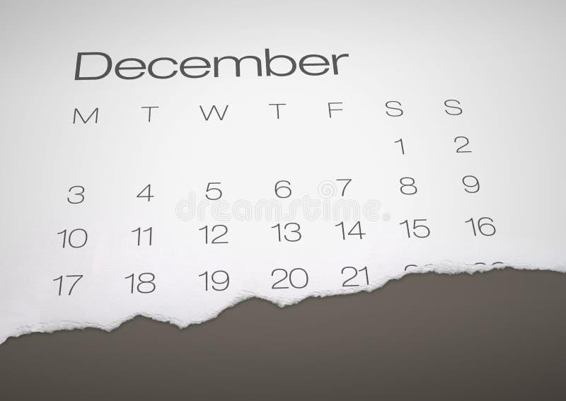 21 Δεκεμβρίου - τέλος του κόσμου διανυσματική απεικόνιση