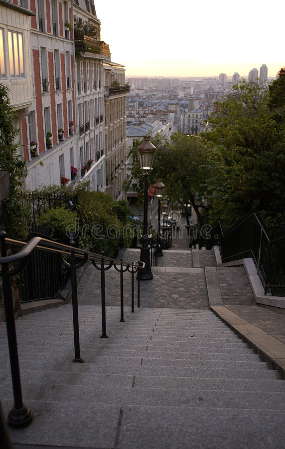21 montmatre Παρίσι στοκ φωτογραφία με δικαίωμα ελεύθερης χρήσης