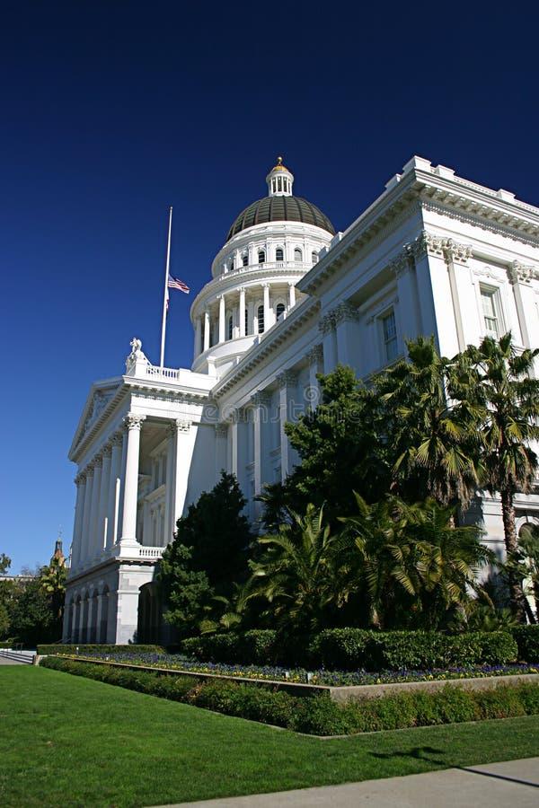 加利福尼亚资本 库存照片