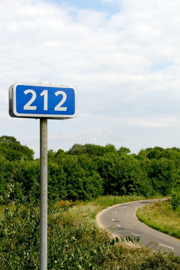 212 km royalty-vrije stock afbeeldingen