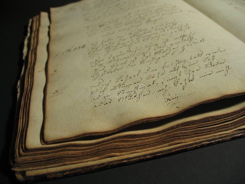 古色古香的书我 免版税库存图片
