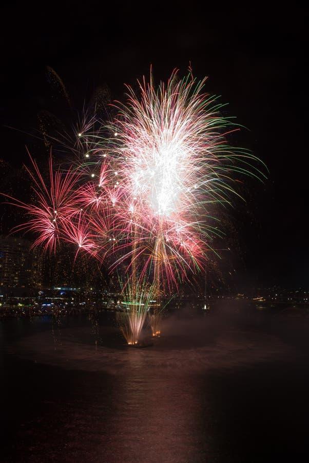 21st гавань феиэрверков милочки дня рождения стоковые фото