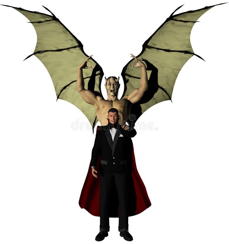 21st Century Vampire Stock Image