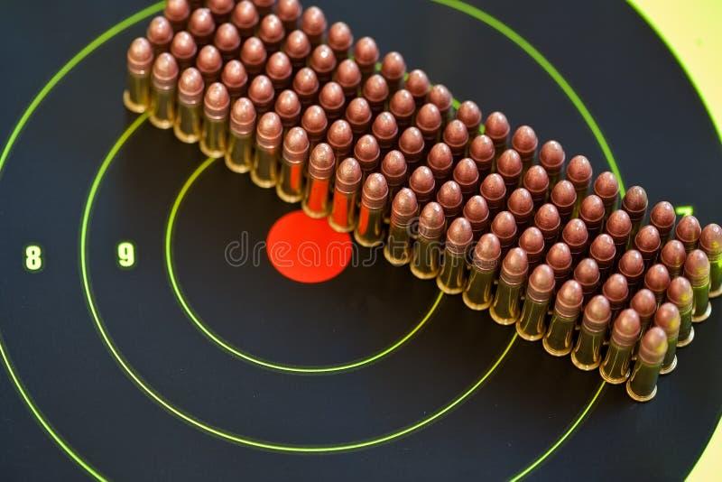 22弹药口径lr 免版税库存照片