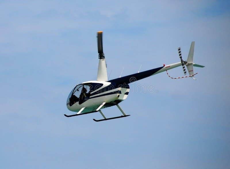 22 helikopter ljust r robinson royaltyfria foton