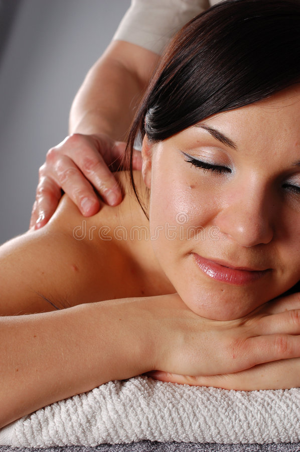 22 masaż. fotografia stock