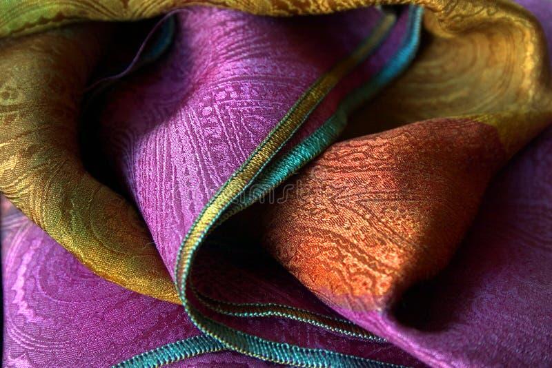 围巾丝绸 免版税库存图片