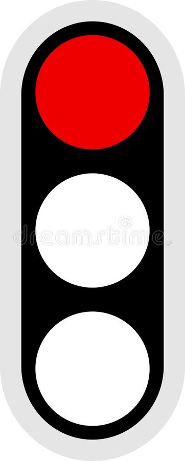 图标信号业务量 库存例证