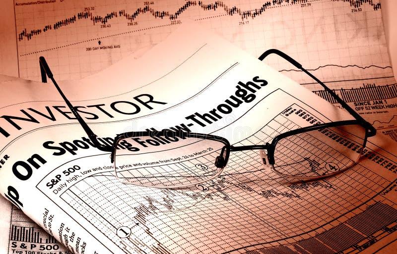 图表股票 库存照片