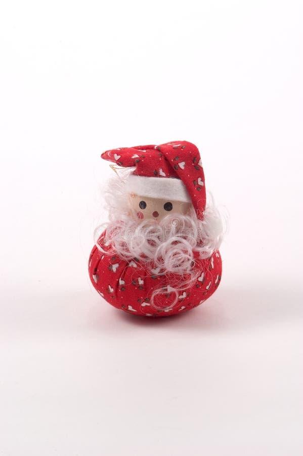 圣诞老人充塞了 库存图片