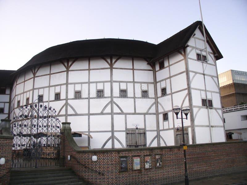 地球s莎士比亚剧院 库存图片