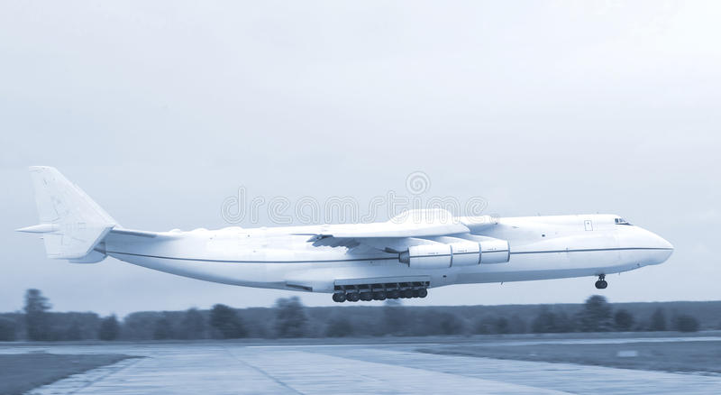 Download An-225 Mriya stock image. Image of airport, space, outdoors - 10486705
