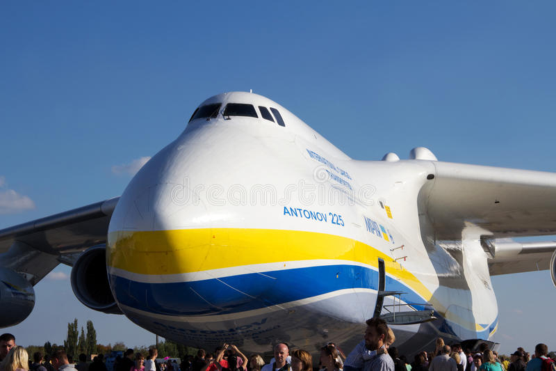 Download An-225 Mriya editorial photo. Image of antonov, biggest - 26886176
