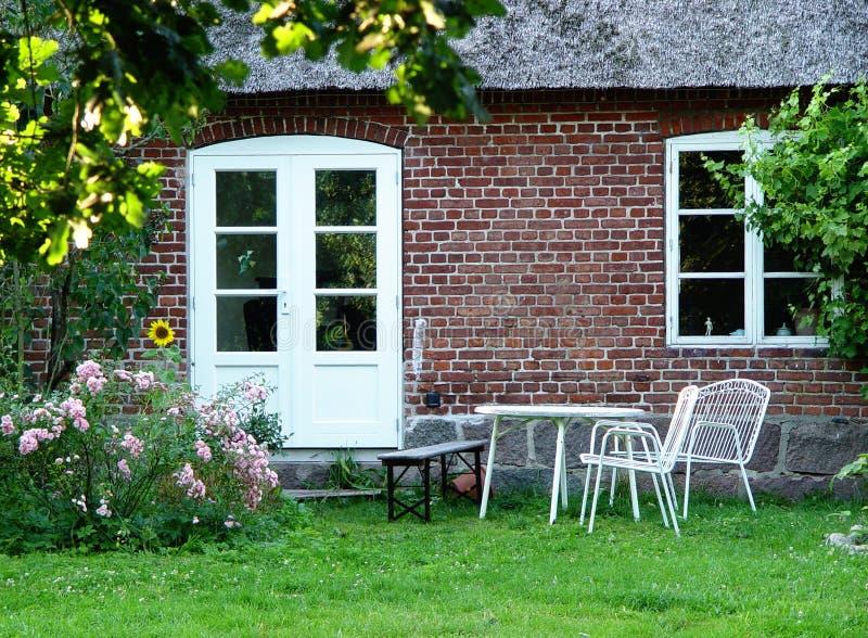 外面房子 免版税库存图片