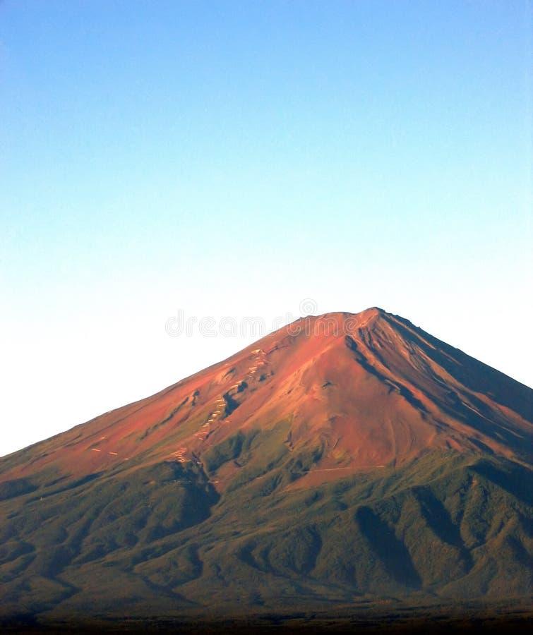 富士挂接纵向 库存照片