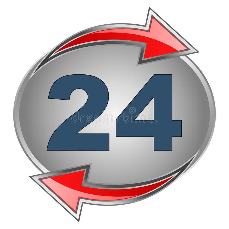 24个符号 库存例证