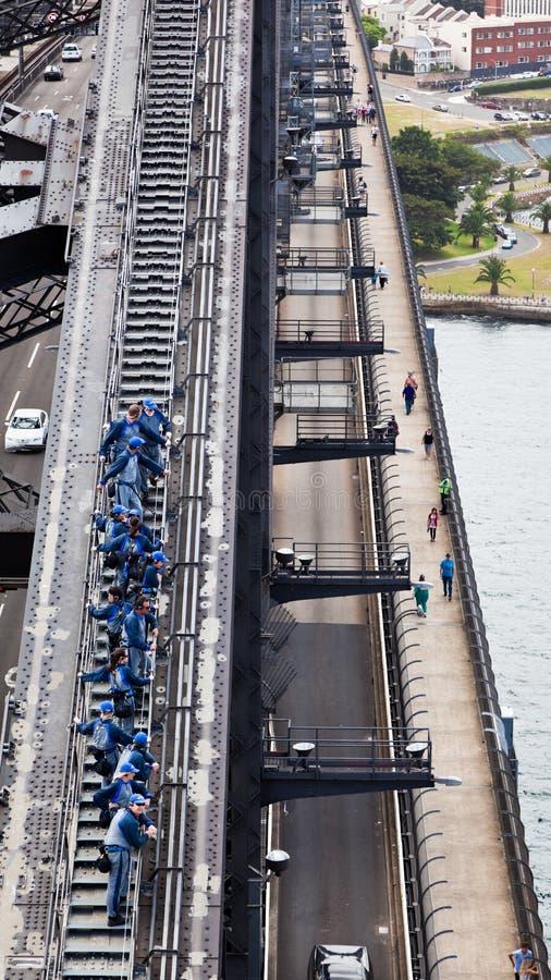 24 гавани Сидней -го подъема 2010 моста январь стоковые изображения