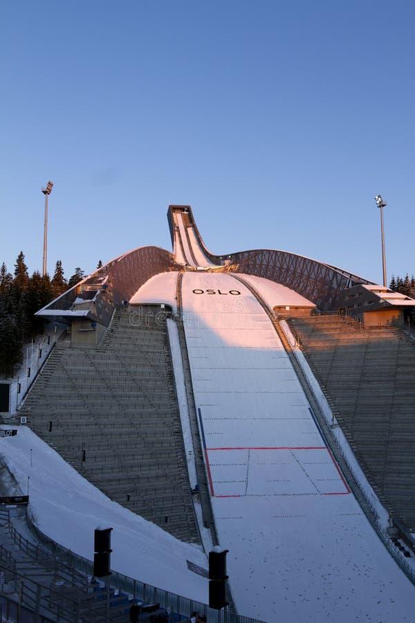 24 мира лыжи Норвегии Осло fis c февраля нордических стоковая фотография