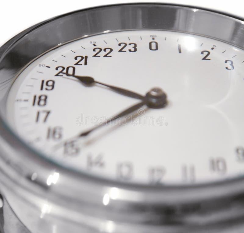24 godziny zegarowej fotografia royalty free