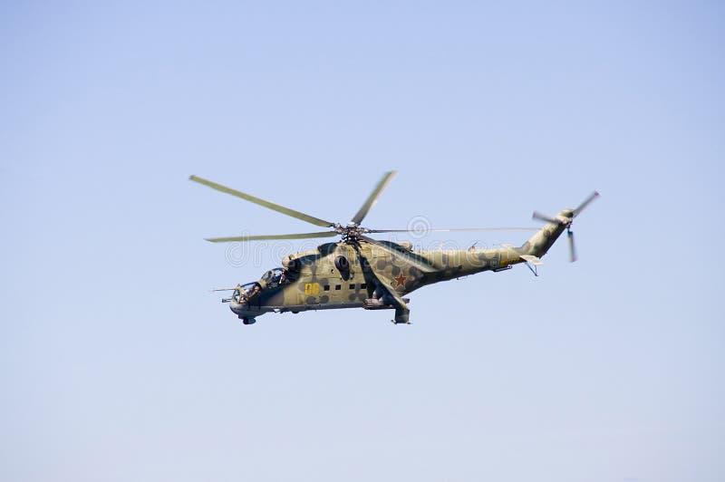 24 helikopter mi arkivbilder