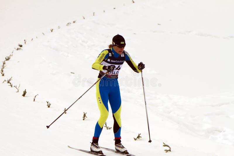 24 mistrzostwa Feb fis północnych Oslo narciarskich światu zdjęcie stock