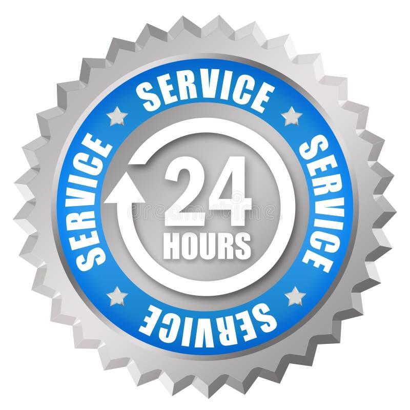 24 service stock illustrationer