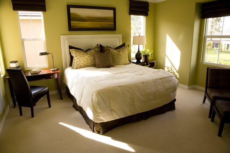 2462卧室 库存照片