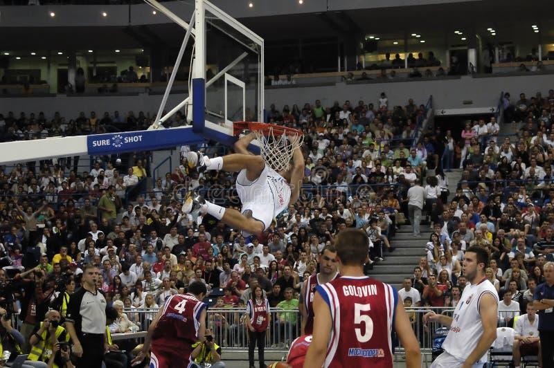 25èmes UNIVERSIADE - Basket-ball photographie stock