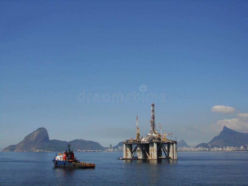 25石油平台 库存图片