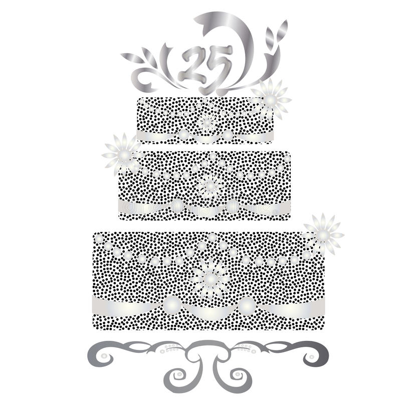 Software Di 25 Anni Per La Celebrazione Di Loghi