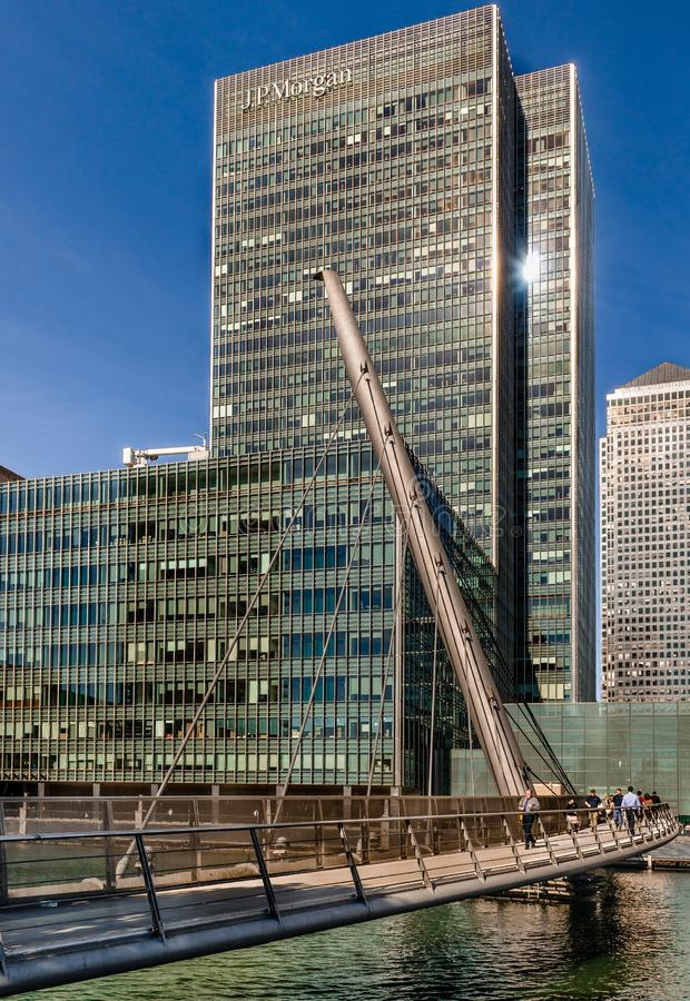 Free 25 Bank Street At Canary Wharf Royalty Free Stock Image - 136228516