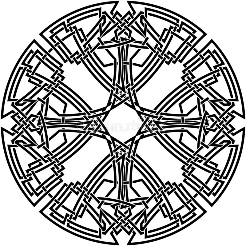 25 celtic fnurra vektor illustrationer