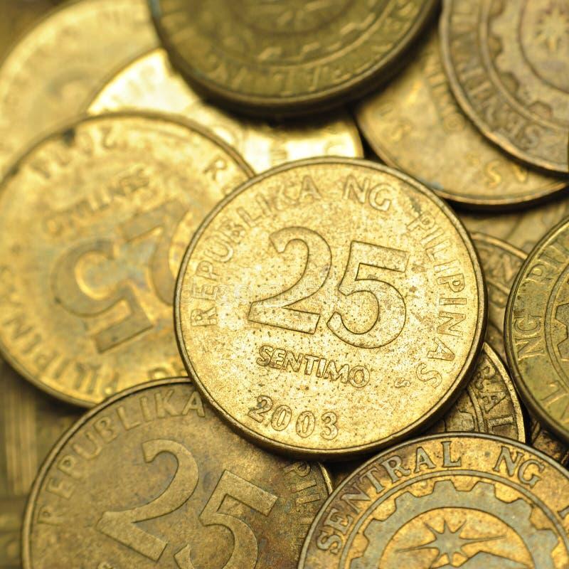 25 Centavo Philippine Coins Stock Photo Image 20761160