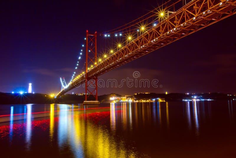 Download The 25 De Abril Bridge In Lisbon Stock Image - Image: 19007195