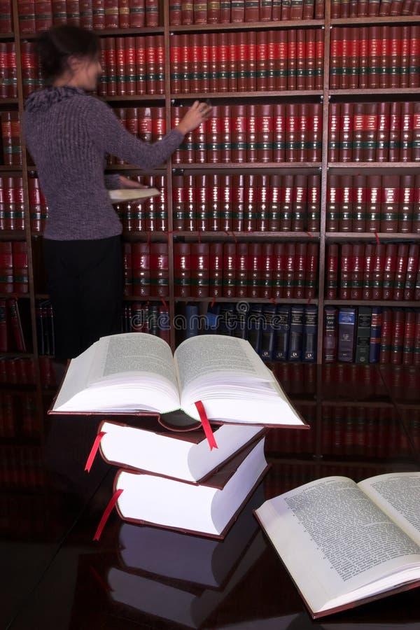 25 lagliga böcker royaltyfri fotografi