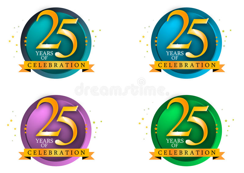 25 years. Of celebration art work