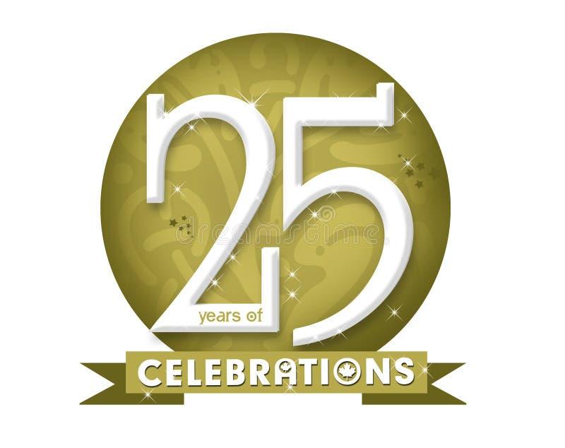 Anniversary sign vector illustration