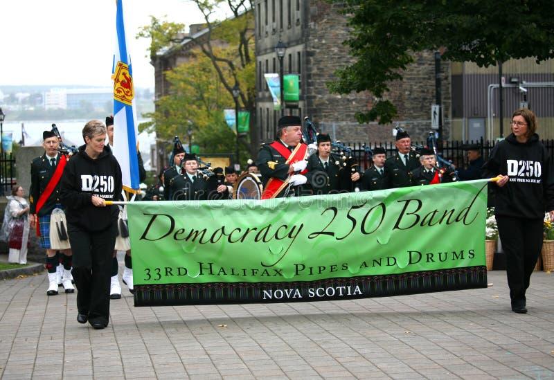 250 demokratiår royaltyfri bild