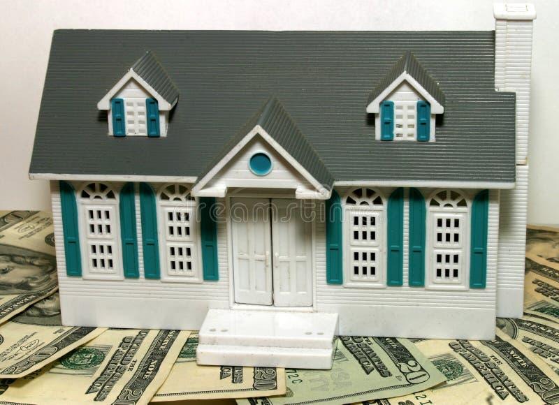 房屋贷款抵押 免版税库存图片