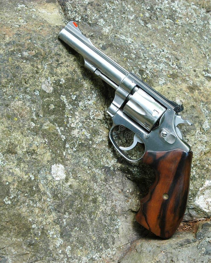 手枪目标 免版税库存照片