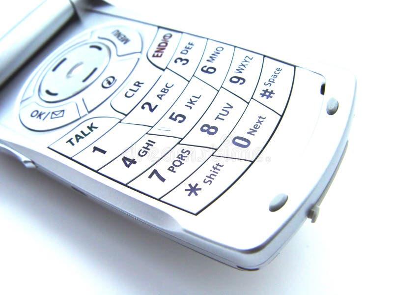抽象手机 免版税库存图片