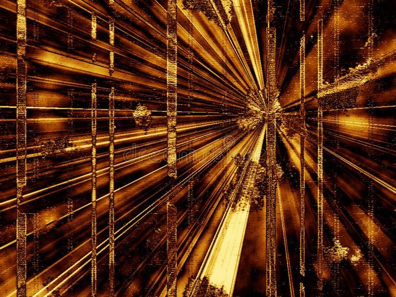 抽象背景透视图 向量例证